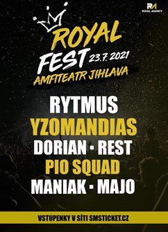 Royal Fest Jihlava- Jihlava -Amfiteátr, Březinovy sady, Jihlava