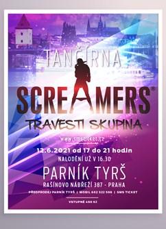 Screamers- Praha -Parník Tyrš, Rašínovo nábřeží 387, Praha