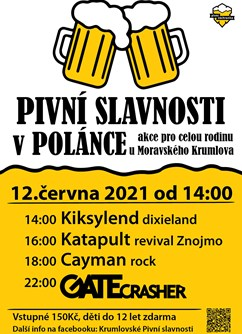 II. Pivní slavnosti v Polánce- Moravský Krumlov -PUB CAFÉ BAR Polánka, Dukovanská 1664, Moravský Krumlov