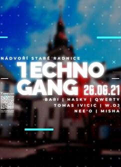 Techno Gang (SK) | Open Air - Brno -Stará radnice, Radnická 8, Brno