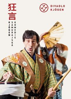 Japonské komedie kjógen- Brno -Místodržitelský palác Moravské galerie, Moravské náměstí 1a, Brno