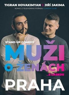 Stand Up Comedy - Muži o ženách (repríza)- Praha -Divadlo Na Maninách, Na Maninách 32a, Praha