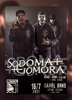 Sodoma Gomora (Desade, Řezník, Dj Ill Rick) & DJ Ba2s- Brno -Favál, Křížkovského 416/22, Brno