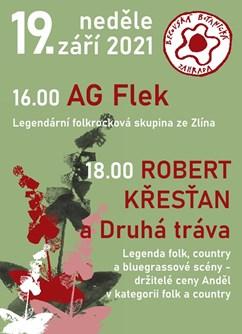 Koncert AG Flek a Druhá tráva v Bečovské botanické zahradě- Bečov nad Teplou -Bečovská botanická zahrada, Botanická zahrada, Bečov nad Teplou