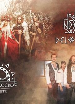 Deloraine a Tomáš Kočko na Špilberku- Brno -Letní kino hrad Špilberk, Špilberk 210/1, Brno