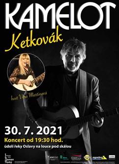 Koncert Kamelot - Ketkovák- Senorady -Na louce pod skálou, na