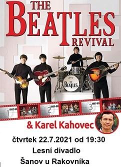 The Beatles Revival + Karel Kahovec- Šanov -Lesní divadlo Šanov, Šanov, Šanov