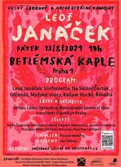 Janáčkoviny- Praha -Betlémská kaple, Betlémské nám. 255/4, Praha