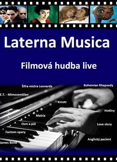 Laterna Musica - Filmová hudba live- Praha -Scéna Gloriet, Borová 1532/8, Praha