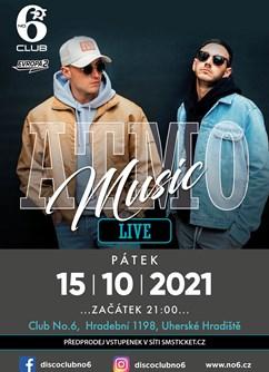 Atmo Music- koncert v Uherskén Hradišti -Club No6, Hradební 1198, Uherské Hradiště