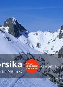 Korsika- Brno -Expediční klubovna, Jezuitská 1, Brno