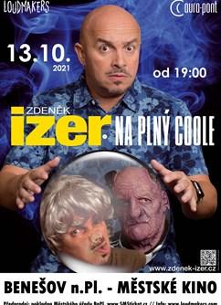 Zdeněk Izer - Na plný coole (vstupenky na balkon)- Benešov nad Ploučnicí -Městské kino, Čapkova 477, Benešov nad Ploučnicí