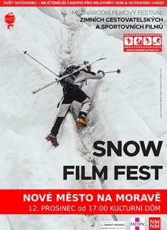 Snow Film Fest – 2021- Nové Město na Moravě -Kulturák NMnM, Tyršova 1001, Nové Město na Moravě