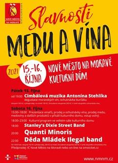Slavnosti medu a vína- Nové Město na Moravě -Kulturák NMnM, Tyršova 1001, Nové Město na Moravě