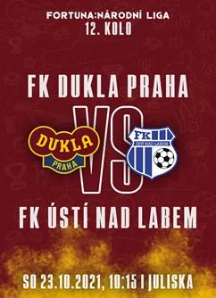 FK Dukla Praha - FK Ústí nad Labem- Praha -FK Dukla Praha, Na Julisce 28/2, Praha