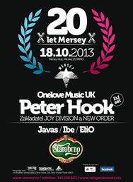 Peter Hook (Joy Division, New Order, UK), oslava 20 let Mersey