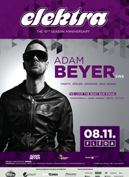 Elektra: Adam Beyer akce do 30.9.2014