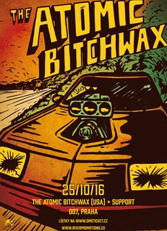 Atomic Bitchwax (USA) + support
