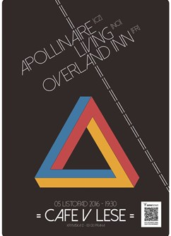 Apollinaire (CZ) + Living (NO) + Overland Inn (FR)