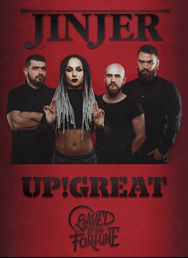 Jinjer /UA/ | Up!Great | Saved by the Fortune