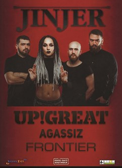 Jinjer /UA/ | Up!Great | Agassiz | Frontier
