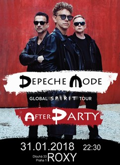 Depeche Mode Global Spirit Tour - Official After Party
