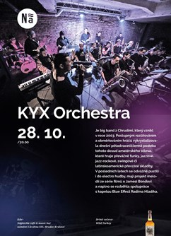 Kyx Orchestra / koncert big band