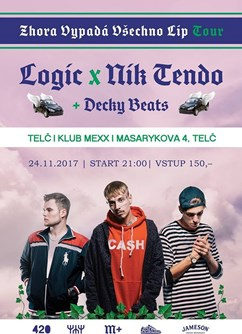 Logic x Nik Tendo x Decky Beats / Zhora tour