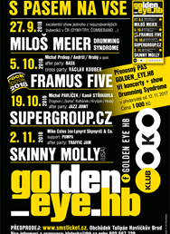 Golden_Eye - Meier, Supergroup.cz, Framus Five, Skinny Molly