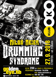 Miloš Meier - Drumming Syndrome, koncert série Golden_eye.hb