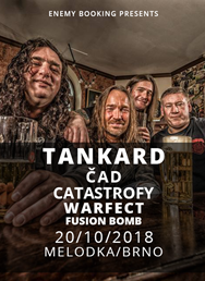 Tankard (Thrash metal, DE) + support