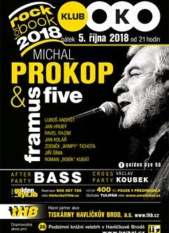 Rock for book 2018 - Michal Prokop & Framus Five, Bass