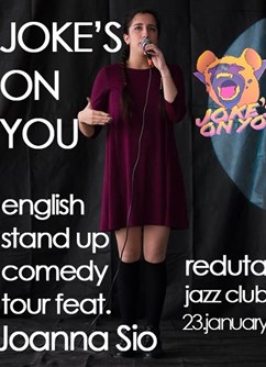 Joke's on You tour Prague feat. Joanna Sio