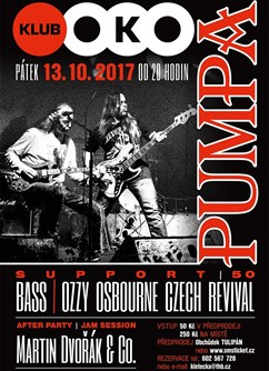 Pumpa, Ozzy Osbourne Czech Revival, Bass