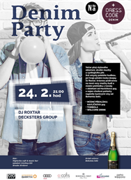 Denim party / DJ Roxtar, Decksters group