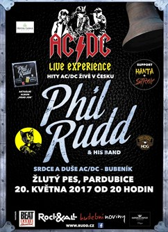Phil Rudd & His Band - Legendary AC/DC Drummer
