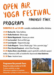 Open Air Yoga festival