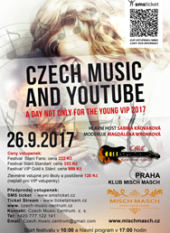 Czech Music and YouTube Day The Young VIP 2017