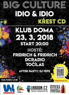 Big Culture - Idio&Idio křest CD
