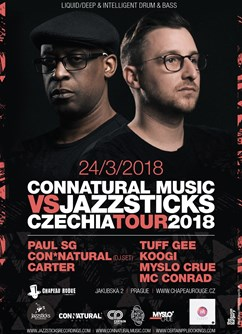 Paul SG (AT) & MC Conrad (UK) Czechia tour 2018