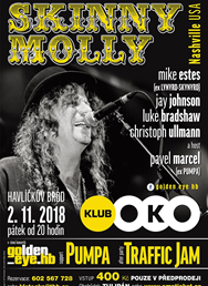 Skinny Molly (USA), Pumpa - koncert série Golden_eye.hb