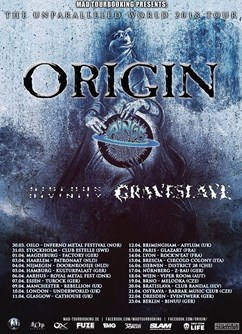 Origin, Rings of Saturn, Hideous Divinity