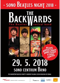 Sono Beatles Night 2018 with The Backwards (SK)