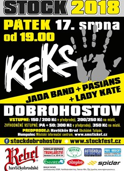 Stock Dobrohostov - Keks, Jada Band, Lady Kate, Pasiáns