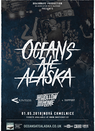 Oceans Ate Alaska + Our Hollow Our Home + support