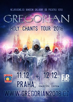 GREGORIAN - Holy Chants Tour 2018