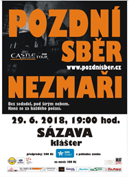 Castle tour 2018 Sázava