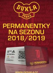 FK Dukla Praha: Permanentka 2018/2019