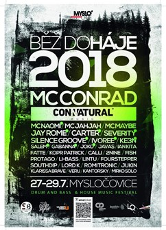 Běž do Háje 2018 w/ Mc Conrad /UK/ & Jay Rome,Carter /AT/