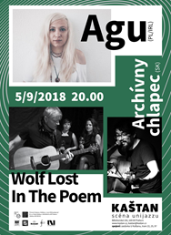 Agu (PL/IRL), Wolf Lost In The Poem, Archívny chlapec (SK)